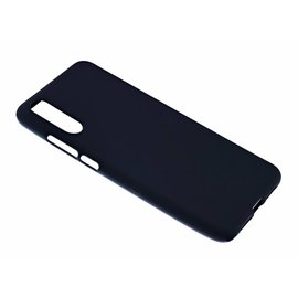 Merkloos Huawei P20 Pro Case Zwart TPU Hoesje Matte Finish Slim Profile