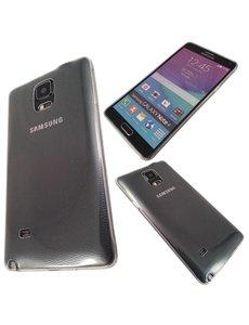 Merkloos Samsung Galaxy Note 4 Ultra thin 0.3 mm TPU Transparant case