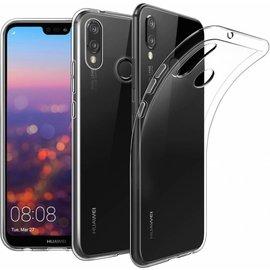 Merkloos Huawei P20 Lite hoesje - ultra Soft TPU case - transparant