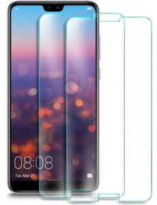 Merkloos 2 Pack - Huawei P20 Pro Screenprotector / Beschermglas GlazenTempered Glass