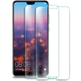 Merkloos 2 Pack - Huawei P20 Pro  Screen Protector / Beschermglas GlazenTempered Glass