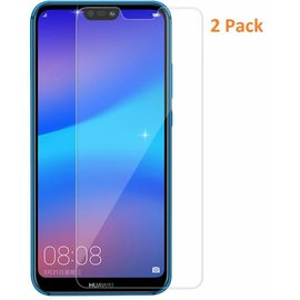 Merkloos 2 Pack - Huawei P20 Screen Protector / GlazenTempered Glass