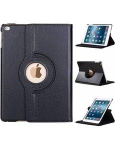 Merkloos Apple iPad 9.7 (2018) hoesje 360° draaibaar Zwart