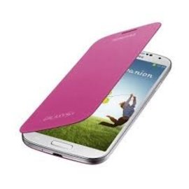 Samsung Samsung Flip Cover voor Samsung Galaxy S4 - Roze
