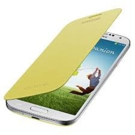 Samsung Samsung Flip Cover voor Samsung Galaxy S4 - Geel