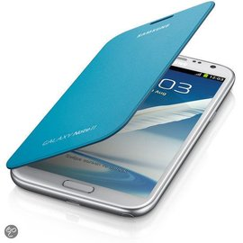 Samsung Samsung Flip Cover voor de Samsung Galaxy Note 2 - Blauw