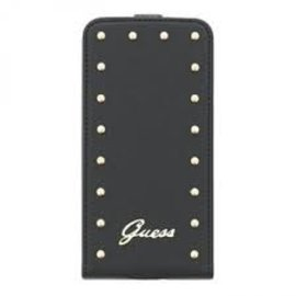 Guess Guess Galaxy S5 Studded Collection Flip Case Black