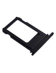 Merkloos iPhone 8 Plus - Simcard Holder Zwart