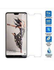 Merkloos Huawei P20 Tempered Glass / Beschermglas Screenprotector