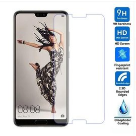 Merkloos Huawei P20 Pro Tempered Glass / Beschermglas Screen Protector
