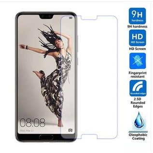 Merkloos - Huawei P20 Pro 2Pack / 2X Tempered Glass / Beschermglas Screen Protector