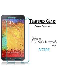 Merkloos Samsung Galaxy Note 3 Neo glazen Screenprotector Tempered Glass (0.3mm)