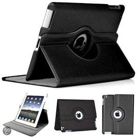 Merkloos Luxe 360 graden Protect cover case voor iPad 2 / 3 / 4 Zwart