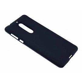 Merkloos Nokia 5 Case Zwart TPU Hoesje Matte Finish Slim Profile