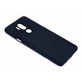 Merkloos LG - G 7 Case Zwart TPU Hoesje Matte Finish Slim Profile
