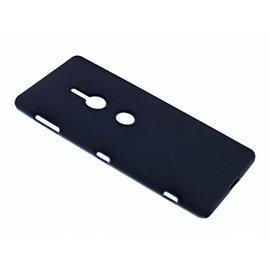 Merkloos Sony Xperia XZ2 Case Zwart TPU Hoesje Matte Finish Slim Profile