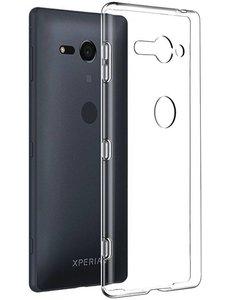 Merkloos Sony Xperia XZ2 Compact Transparant Hoesje