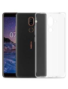 Merkloos Nokia 7 Plus Transparant Hoesje