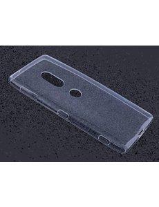 Merkloos Sony Xperia XZ2 Transparant Hoesje