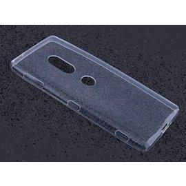Merkloos Sony Xperia XZ2 Transparant Soft TPU Hoesje