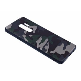 Merkloos - Samsung Galaxy S9 Plus Luxe Camouflage Soft TPU Back Cover Jungle