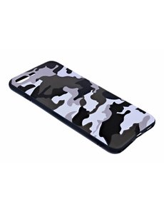 Merkloos - iPhone 8 Plus / 7 Plus Luxe Camouflage backcover Snow