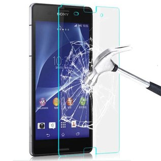 Merkloos Tempered Glass screenprotector Xperia Z3 Compact Sony