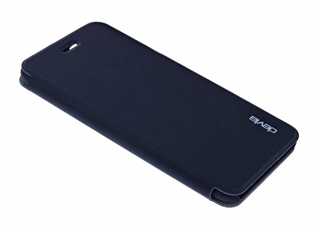 636579b7431 Devia Devia Flip Cover Luxe Hoesje Met Pasje Houder Zwart iPhone 6S / 6Plus  ...