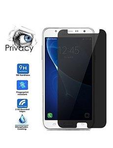 Merkloos Privacy Glazen Screenprotector / Anti Spy Tempered Glass voor Samsung Galaxy J3 2017