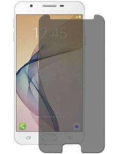 Merkloos Privacy Glazen Screenprotector / Anti Spy Tempered Glass voor Samsung Galaxy A3 2017
