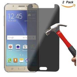 Merkloos Privacy Glazen Screenprotector / Anti Spy Tempered Glass voor Samsung Galaxy J5 2017
