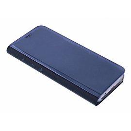 Merkloos Zwart LED Flip Cover Hoesje Samsung Galaxy S9