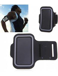 Merkloos Zwart Sportarmband LG Q7