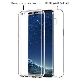 Ntech Ntech 360° Protection Hoesje PC & Kunststof Transparant Samsung Galaxy S9