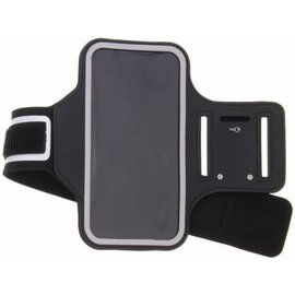Merkloos Zwart Sportarmband Samsung Galaxy J7 Prime 2