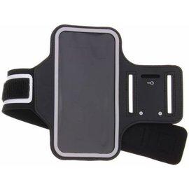 Merkloos Zwart Sportarmband Huawei Y6 (2018)