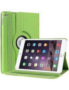 Merkloos iPad Air 2 Case, 360 graden draaibare Hoes, Cover - Groen