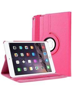 Merkloos Apple iPad Air 2 Case, 360 graden draaibare Hoes, Cover - Pink
