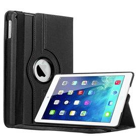 Merkloos iPad Air Luxe 360 GradenRotatie Hoes Cover Case Zwart