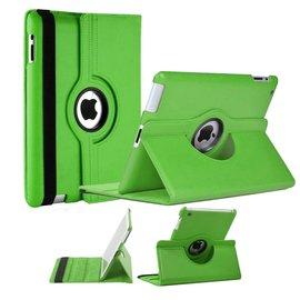 Merkloos Apple iPad Mini / Mini 2 Case, 360 graden draaibare Hoes, Cover met Multi-stand Licht Groen