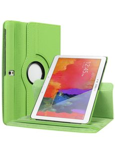 Merkloos Samsung Galaxy Tab Pro 10.1 T520 / T525 Tablet hoesje 360 Draaibaar - Groen