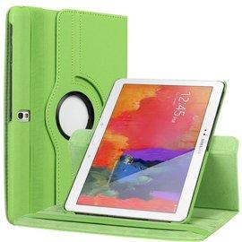 Merkloos Galaxy Tab Pro 10.1 T520 / T525 Tablet hoesje cover 360 graden draaibaar met Multi-stand kleur Groen