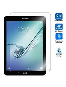 Merkloos Samsung Galaxy Tab S3 (9.7) 2Pack Tempered Glass Transparant Screenprotector T825