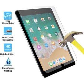 Merkloos Apple iPad Pro 10.5 (2017) 2Pack Tempered Glass Transparant Screenprotector 2.5D 9H