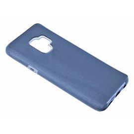 Merkloos Samsung Galaxy A6+ (Plus) (2018) Zwart Glitter TPU Back Cover Hoesje