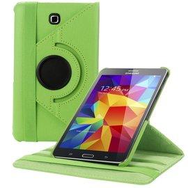Merkloos Samsung Galaxy Tab 4 7.0 inch Tablet hoesje cover 360 graden draaibaar met Multi-stand kleur Grone