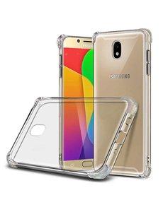 Merkloos Samsung Galaxy J7 (2017) Anti Shock Back hoesje