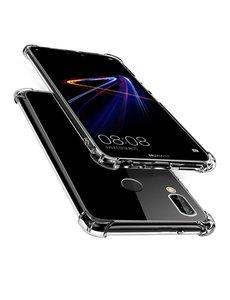 Merkloos Huawei P20 Lite Anti Shock Back hoesje