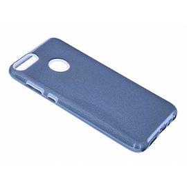 Merkloos Huawei P smart Zwart Glitter TPU Back Cover Hoesje