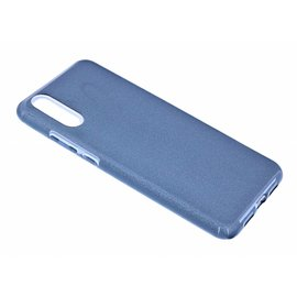 Merkloos Huawei P20 Zwart Glitter TPU Back Cover Hoesje